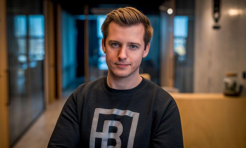 """Danielius Stasiulis, UAB """"BitDegree"""" direktorius. Įmonės nuotr."""