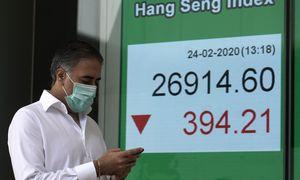 COVID-19paplitimas už Kinijos ribų sėja išsipardavimą biržose