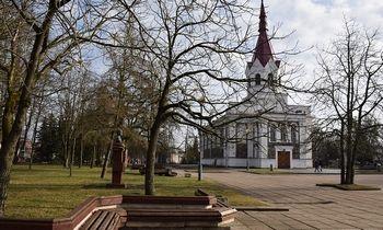 """Užsakymą rekonstruoti aikštę Panevėžyje gavo """"Statkorpas"""""""