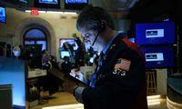 JAV rinkas papurtė didžiausias per 2 metus kritimas