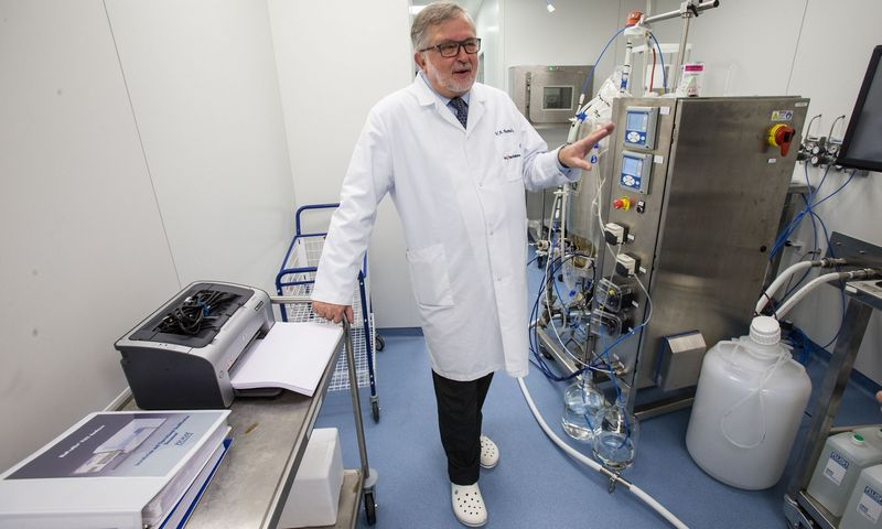 """Prof. Vladas Algirdas Bumelis, UAB """"Biotechpharma"""" valdybos narys. Vladimiro Ivanovo (VŽ) nuotr."""