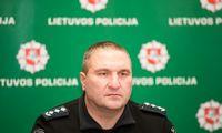Atleistas Kauno policijos viršininkas D. Žukauskas