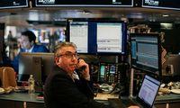 JAV biržoms atsitiesti nepavyko – vėl žemyn, bet be rekordų
