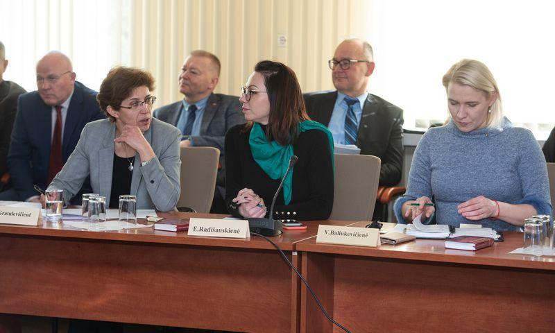 Trišalė taryba tarėsi, kaip išvengti kompensacijų mokėjimo piktnaudžiavimo. Vladimiro Ivanovo (VŽ) nuotr.