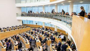 Seime – bandymas inicijuoti valstybinio komercinio banko steigimą