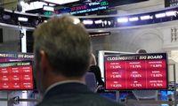 JAV biržos per dieną prarado 5%: gali būti blogiausia nuo krizės savaitė
