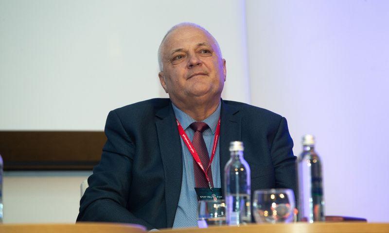 Jonas Gricius, Valstybinės darbo inspekcijos vadovas. Vladimiro Ivanovo (VŽ) nuotr.