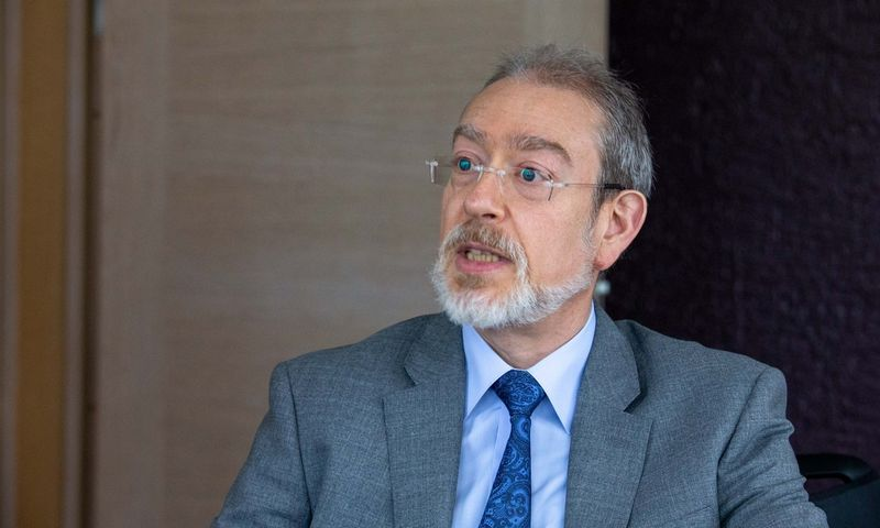 Pablo Antolinas, EBPO pensijų ekspertas. Vladimiro Ivanovo (VŽ) nuotr.