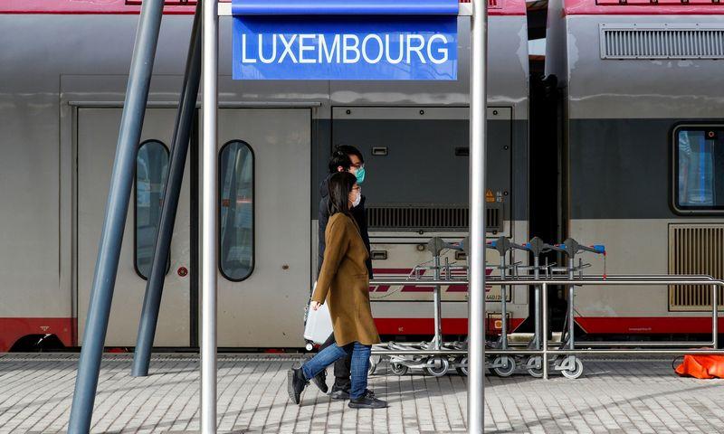"""Nuo kovo 1 d. visame Liuksemburge viešuoju transportu galima naudotis nemokamai. Francois Lenoiro (""""Reuters"""" / """"Scanpix"""") nuotr."""