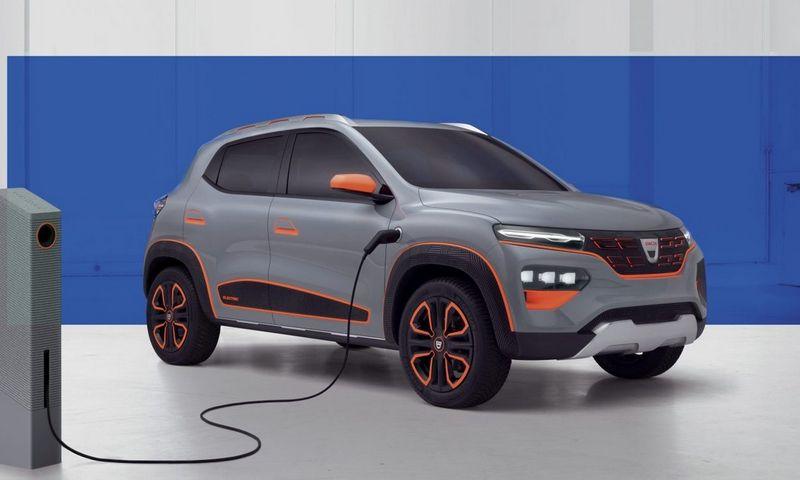"""Dacia Spring"" elektromobilis. Gamintojo nuotr."
