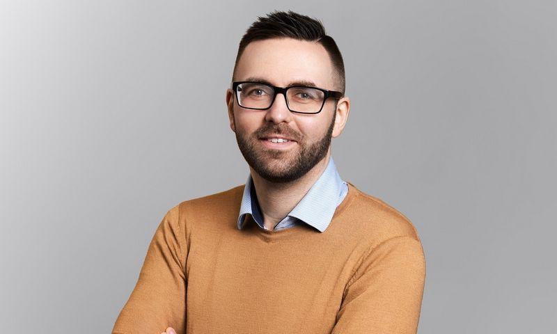 """""""SME Finance"""" rinkodaros vadovu pradeda dirbti Robertas Šapalas. Bendrovės nuotr."""