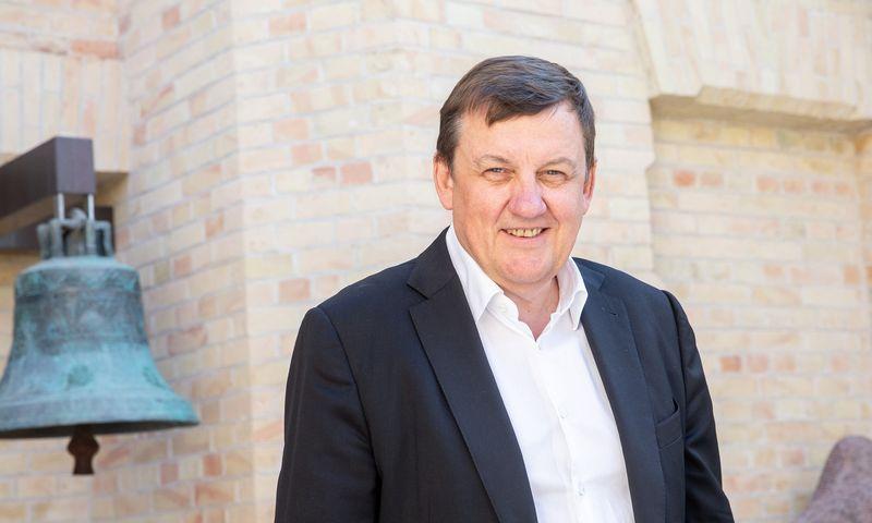 """Rolandas Valiūnas, advokatų kontoros """"Ellex Valiunas"""" vadovaujantysis partneris. Juditos Grigelytės (VŽ) nuotr."""