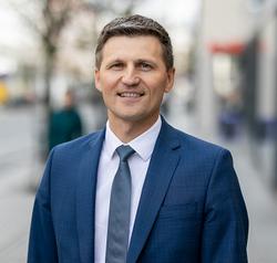 """Vaidas Žagūnis,  """"Citadele"""" banko valdybos narys ir Verslo bankininkystės tarnybos vadovas Baltijos šalims. """"Citadele"""" nuotr."""