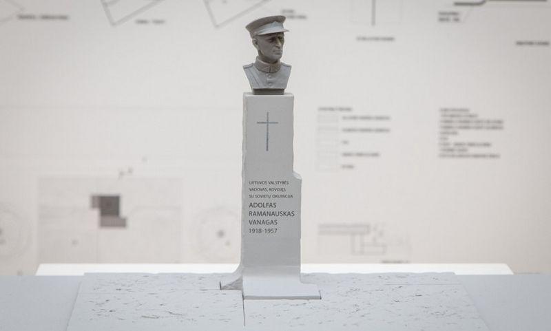"""Konkursą laimėjusi skulptoriaus Algirdo Kuzmos ir architektų studijos """"arches"""" idėja. LRV.lt nuotr."""
