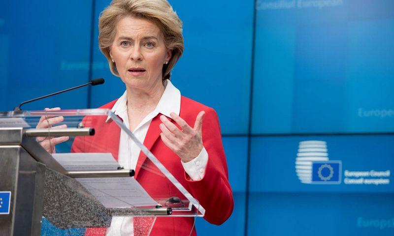 "Ursula von der Leyen, EK pirmininkė. Zheng Huansong (""Xinhua"" / ""Scanpix"") nuotr."