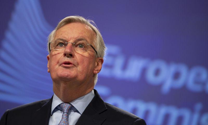 "Michelis Barnier. Virginia Mayo (""AP"" / ""Scanpix"") nuotr."