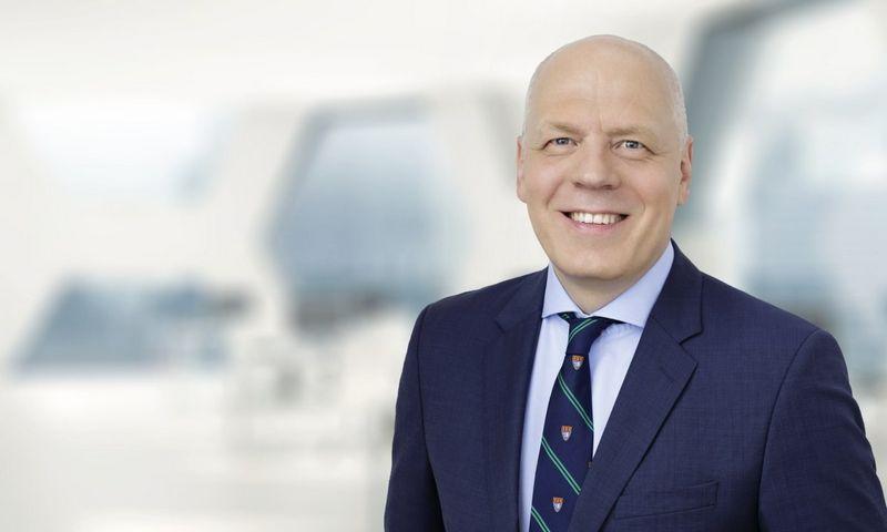"""Gintaras Balčius, advokatų kontoros """"Ellex Valiunas"""" partneris."""