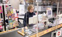 Prekybininkai imasi papildomų prevencinių priemonių parduotuvėse