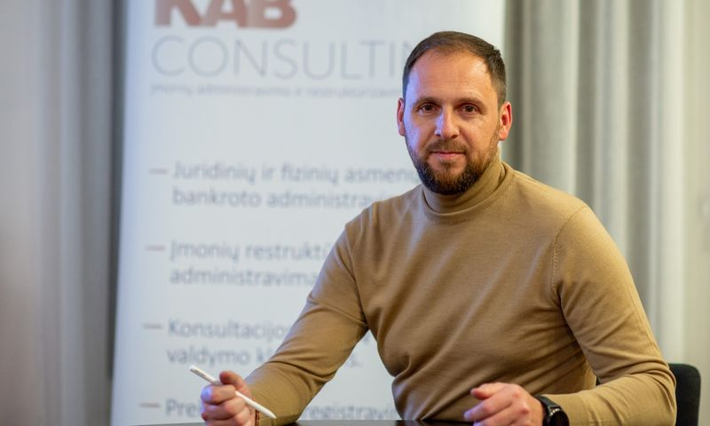 """Tomas Malinauskas, UAB """"Klaipėdos administratorių biuras"""" direktorius:""""Esame darę analizę, kuri parodė, kad restruktūrizavimas gali padėti spręsti finansines problemas."""" Bendrovės nuotr."""