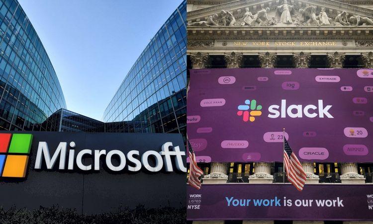 """""""Microsoft"""" ir """"Slack"""" kovoja dėl milijonų vartotojų"""