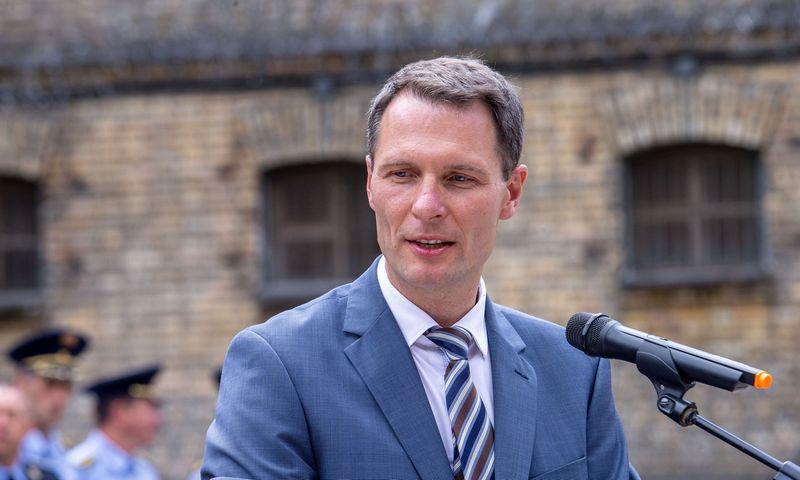 Elvinas Jankevičius, Teisingumo ministras. Juditos Grigelytės (VŽ) nuotr.