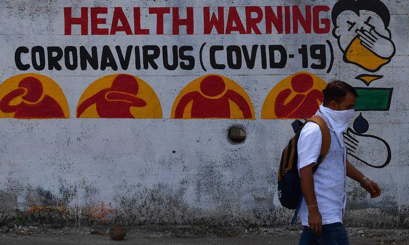 "Indranil Mukherjee (AFP / ""Scanpix"") nuotr."