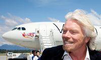 """R. Bransonas skirs 250 mln. USD """"Virgin Group"""" darbo vietoms išsaugoti"""