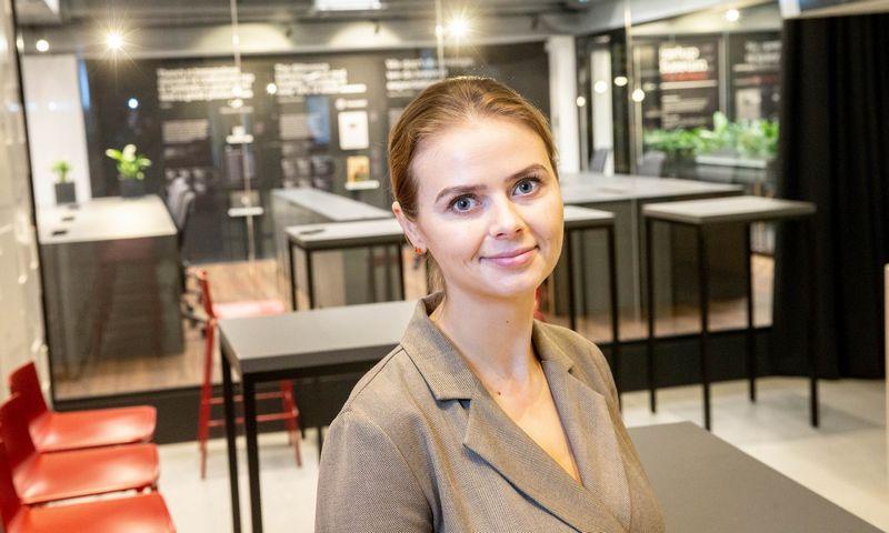 "Viktorija Vaitkevičienė, KŪB ""Koinvesticinis fondas"" vadovė. Juditos Grigelytės (VŽ) nuotr."