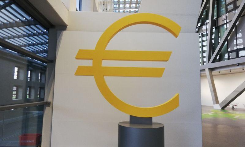 Europos centrinio banko būstinė Frankfurte. Pauliaus Čiulados (VŽ) nuotr.