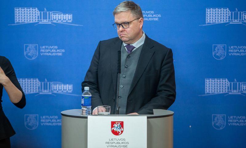 Vitas Vasiliauskas, Lietuvos banko valdybos pirmininkas. Vladimiro Ivanovo (VŽ) nuotr.