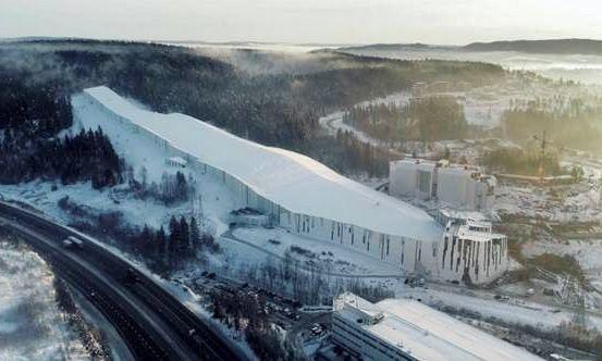 """""""SNØ"""" arena Norvegijoje."""