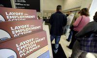 Po prasčiausių istorijoje JAV darbo rinkos duomenų – akcijų kilimas