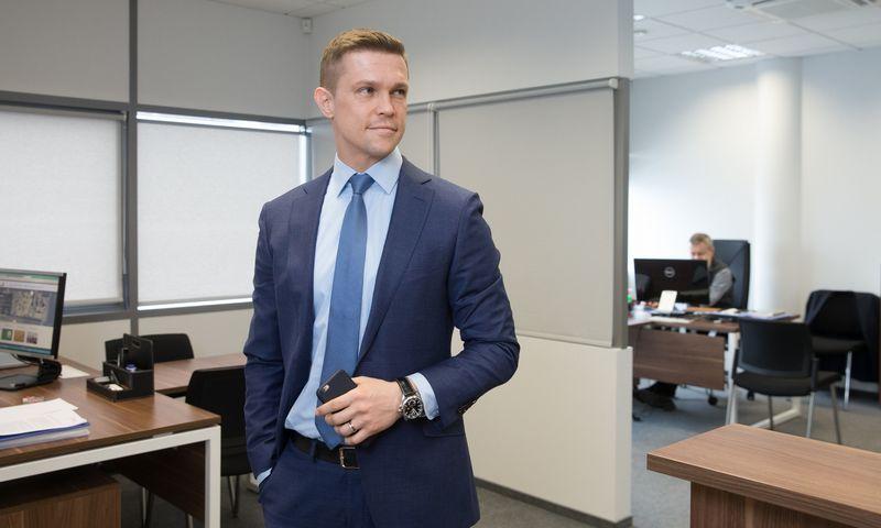 """Jurgis Polujanskas, UAB """"Kurana"""" generalinis direktorius, valdybos pirmininkas: """"Pakankamai aukšta produkto marža mums leis dalį produkcijos dovanoti gydymo įstaigoms."""" Juditos Grigelytės (V"""