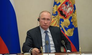 V. Putinas: vyriausybė COVID-19 padariniams įveikti skiria 1,2% metų BVP