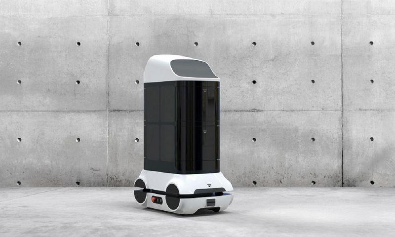 """""""Rubedo sistemos"""" kuriamas dezinfekcinis robotas."""