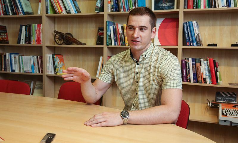 Investuotojas Povilas Panavas. Vladimiro Ivanovo (VŽ) nuotr.