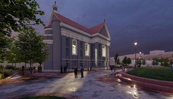 Atnaujino sostinės Šv. Stepono skvero rekonstrukcijos projektą