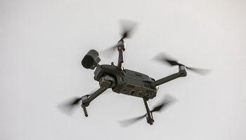 Vilniuje karantino tvarkos pažeidėjus stebi dronai