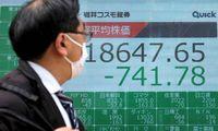 Pasaulio biržose išlieka išaugęs kintamumas