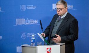 V. Vasiliauskas: panikos nematau, svarbiausia, kad pradėtų veikti pagalbos programa