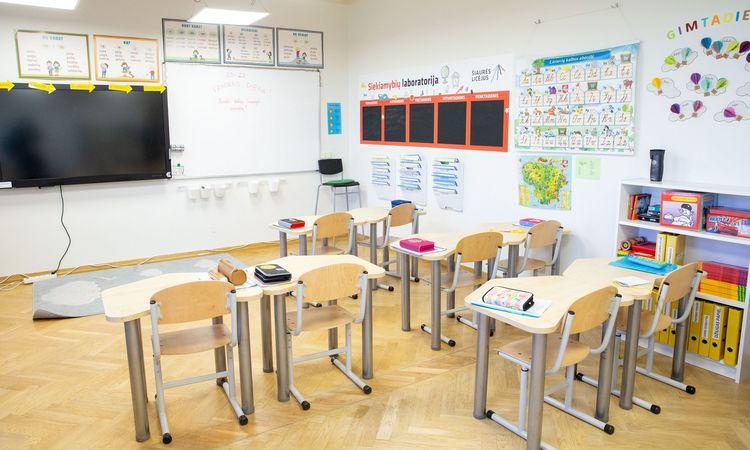 Mokyklos pradeda mokymą nuotoliniu būdu