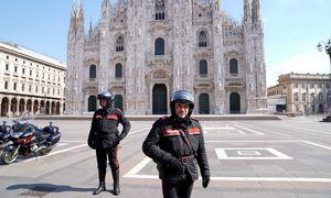 Italijoje mirčių skaičius mažėja, griežtos priemonės bus tęsiamos