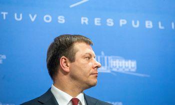 V. Šapoka: biudžeto peržiūra priklausys nuo skolos