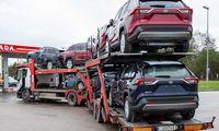 Apklausa: veiklą visiškai sustabdė 83% automobilių vežėjų