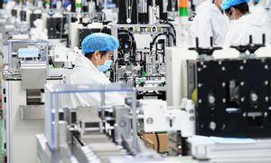 Verslo aktyvumas Kinijos pramonėje vėl auga