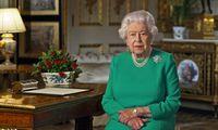 Britanijos karalienė: bendromis pastangomis COVID-19 epidemija bus įveikta