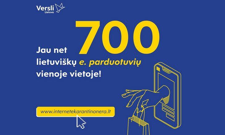 """Verslas keliasi į internetą: """"Verslios Lietuvos"""" iniciatyva subūrė beveik 700 e.parduotuvių"""
