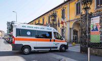 Į Italiją siunčiama Europos medikų komanda