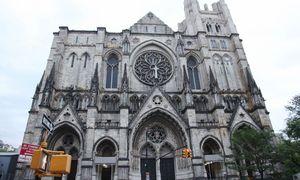 Niujorko katedra bus naudojama kaip lauko ligoninė