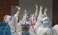 Kinijoje per parą nuo koronaviruso nemirė nė vienas žmogus